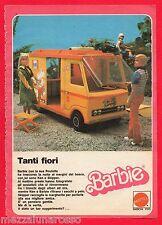 Pubblicità Advertising MATTEL BARBIE CAMPER Ken Tanti fiori 1977