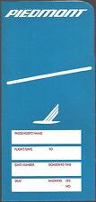 Piedmont Airlines ticket jacket wallet [6124] Buy 4+ save 50%