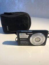 Sony Cyber-shot DSC-W610 14.1MP Digital Camera - Black EXCELLENT Black CASE