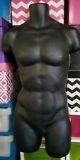 Male Mannequin Dummy Hanging Display Torso Size 32, 82 quality exclnt condition
