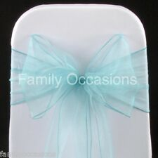 WEDDING ORGANZA CHAIR COVER BOW SASH FOR SALE UK SELLER new