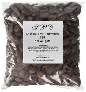 5 LBS /  Five pound bag of Merckens Melting/Coating Wafers/