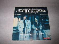 BOF CLAIR DE FEMME 45 TOURS FRANCE ROMY SCHNEIDER