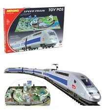 Mehano TGV POS With Scenic Layout 2 x Locomotives + 2 Cars Starter Pack New HO