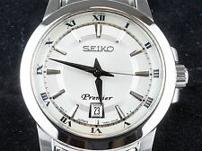 Seiko SXDF41 Premier Stainless Steel Ladies Watch NEW w/tags!