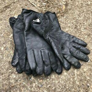 British Army Surplus Grade 1 Black Leather ECW Soldier 2000 Combat Glove Odd's