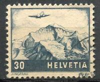 Schweiz 1948 Mi. 506 Gestempelt 100% Flugzeug, Landschaften
