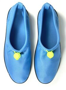 New Blue and Green WATER SHOES ladies and youth sizes listed