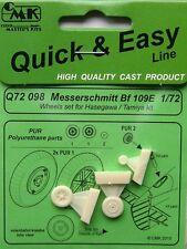 CMK 1/72 Messerschmitt Bf109E Wheels # Q72098
