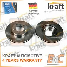 2X BRAKE DISC SET BMW KRAFT AUTOMOTIVE OEM 34111165455 6042600