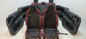 MINI John Cooper Works Sportsitze Seats F60 Dinamica leather / Carbon Black 81KM