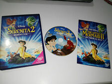 LA SIRENITA 2 REGRESO AL MAR DVD + EXTRAS WALT DISNEY ESPAÑOL ENGLISH