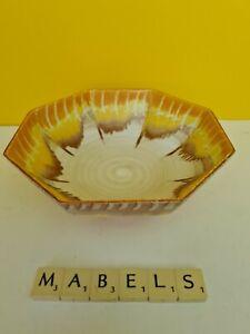 SHELLEY ~HARMONY DRIP WARE - ORANGE~ bowl