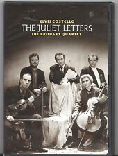 Movie DVD - THE JULIET LETTERS Elvis Costello  / Brodsky Quartet - Pre-Owned