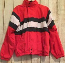 North Bay Mens Coat Sz S 90s World Cup Sailing Jacket Color Block W Hood