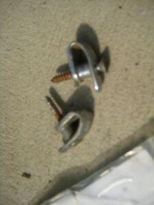 Chrysler Valiant Steel Coat Hooks - Refer description