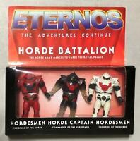 Horde Battalion 3-pack Eternos line SEALED MOTU He-Man Masters of the Universe