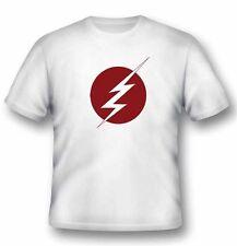 Dc Comics Flash Lightning Logo T-Shirt Unisex Size Taille L 2BNERD