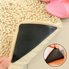 ADHESIVE RUG GRIPPERS Stick On Grip Pads Carpet Mat Corner Holders Anti-Slip