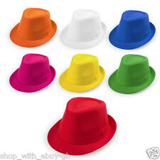 Ladies & Mens PANAMA Hat - Summer Fedora Trilby Beach Unisex Gangster Cap