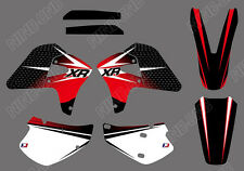 GRAPHICS BACKGROUNDS DECALS FOR HONDA XR650R 2000 01 02 03 04 05 06 07 08 09 XR