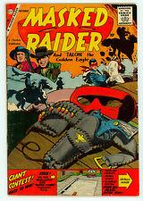 JERRY WEIST ESTATE: MASKED RAIDER #20 (FN) & 27 (VG+) (Charlton 1959-60) NR!