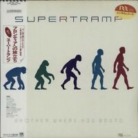 Supertramp Brother Where You Bound A&M Records AMP-28119 LP Japan OBI INSERT
