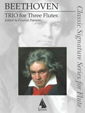 Trio for Three Flutes Book Sheet Music New 000298300