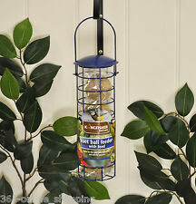 Hanging Suet Ball Wild Bird Feeder Pack + 4 FREE Suet Balls Garden Bird Feeder