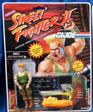 G.I. GI Joe 1993 GUILE Street Fighter II 2 MOC 100%