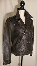 NWT POLO RALPH LAUREN Leather Biker Jacket Size S $998