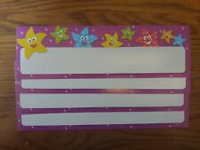 Educational/Teaching Supplies: Colorful Animated Stars Name Plates - School
