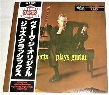 "VINYL LP by HOWARD ROBERTS ""MR. ROBERTS PLAYS GUITAR"" (1981) MONO UMV 2683 JAZZ"