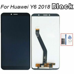 For Huawei Y6 2018 ATU-L11 LCD Display Touch Screen Digitizer Assembly Black