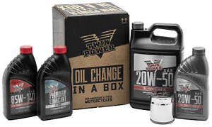 TWIN POWER SPORTSTER OIL CHANGE KIT 539045 CHEMICAL ENGINE OIL