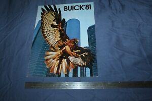 (MN2/C) Brochure Catalogue 1981 BUICK '81