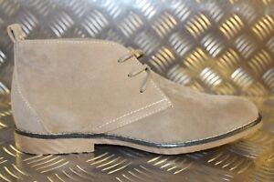Sparco Mens Suzuka Lace Up Desert Boots