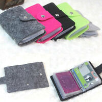 Unisex Pouch ID Credit Card Wallet Holder Organizer Case Pocket Bag for 24 card
