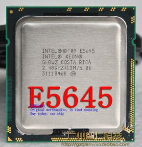 Intel Xeon E5645 (SLBWZ)  / 2.4GHz / 12MB / QPI 5.86GT/s 1366 Server Processor
