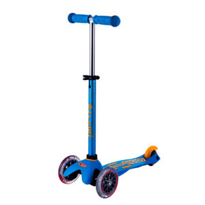Kinderscooter Mini-Micro deluxe - Ocean-blue, Kinderroller, Scooter