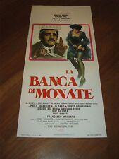 LOCANDINA, S/5,. LA BANCA DI MONATE WALTER CHIARI NOEL,MASSARO