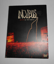 INCUBUS DVD and CD 2004 Alive at red rocks