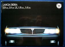 Prospekt brochure Lancia Dedra (CH, 1991)
