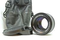 【N MINT w / Pouch】CONTAX Carl Zeiss Planar T* 50mm F1.4 AEJ Lens From JAPAN