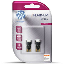 M-Tech Platinum W5W LED Cool White Bulbs (Twin) Osram LED Technology