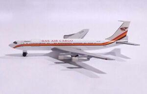 HERPA WINGS 1/500 DAS AIR CARGO 511759 Boeing 707-338C Scale Diecast Model