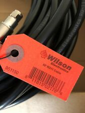 Wilson Rg11 50ft Black Cable with Male Connectors - 951150