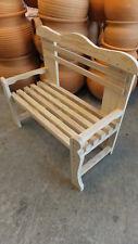BANCO KINDERBANK de listones de madera para niños, 70 cms. de largo.