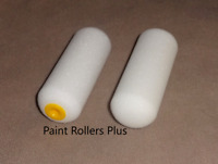 "High Density Foam Mini Paint Rollers 120  4 "" Use With Most Paints"