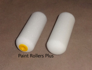 """40  4"""" High Density Foam Mini Paint Rollers  Use With Most Paints"""